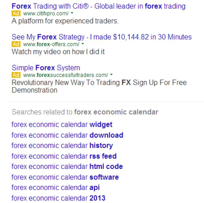 Adwords listings bottom ads